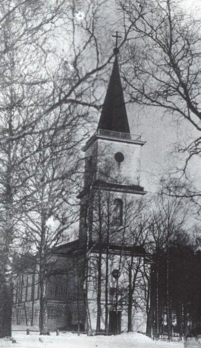 Pampāļu luterāņu baznīca