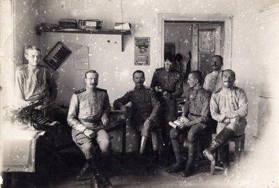 Pirmais pasaules karš. Krievijas armijas karavīri