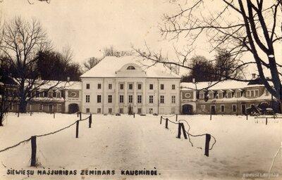 Sieviešu mājturības seminārs Kaucmindē