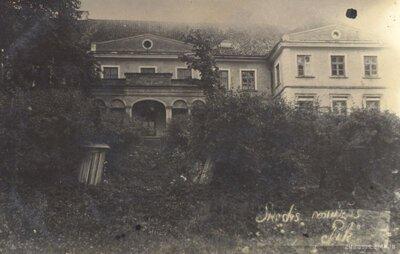 Šķēdes muižas dzīvojamā ēka