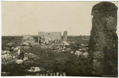 Latvijas Brīvības cīņu kaujas vieta pie Skrundas muižas