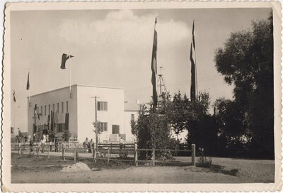 Mazirbe. Lībiešu tautas nams