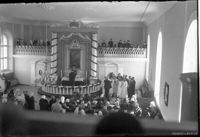 Ēveles luterāņu baznīca. Iesvētības