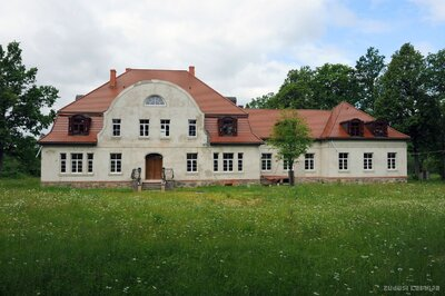 Jaunķempju muižas kungu māja