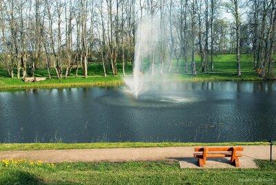 Jaunmoku muižas pils parks