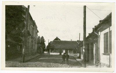 Kuldīga. Vēsturiskā apbūve. Baznīcas iela