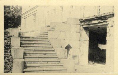 Gaujienas muižas pils kāpnes