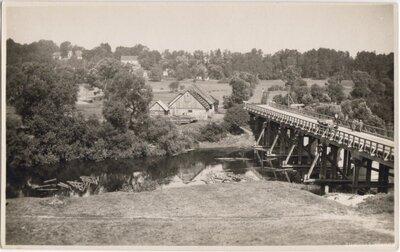 Koka tilts pār Abavu pie Rendas