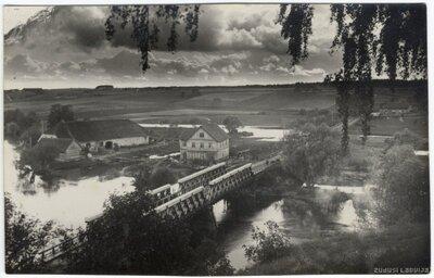 Gaujiena. Tilts pār Gauju