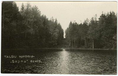 Sapņu ezers Laucienes pagastā