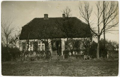 Lībagu pagasts. Lauku māja