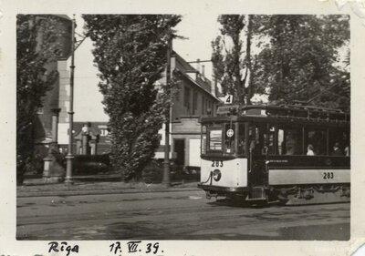 Rīga. Tramvajs