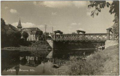 Jelgava. Driksas tilts