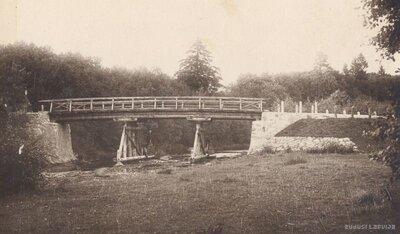 Novadnieku pagasts. Tilts pār Cieceri