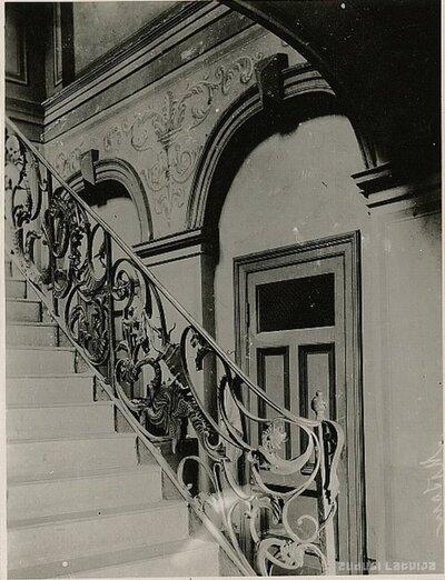 Jelgava. Kāpnes Kurzemes provinces muzejā