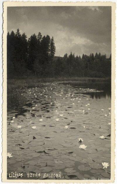 Baldone. Liliju ezers