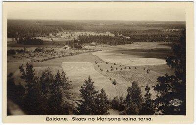 Baldone. Morisona kalns