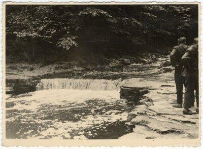 Koknese. Pērses ūdenskritums