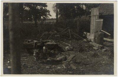 Rembates pagasts. Jaunās mājas celtniecībai paredzētā vieta Ogresziedu pagalmā