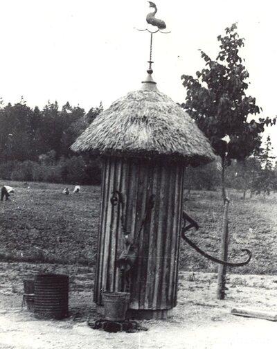 Oskara Kalpaka piemiņas muzeja Airītes ūdens sūknis