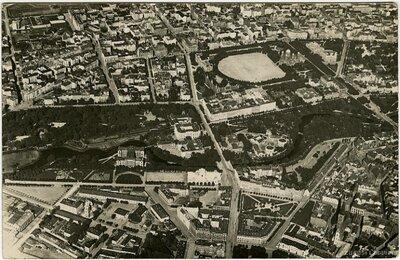Rīgas centra aerofotogrāfija