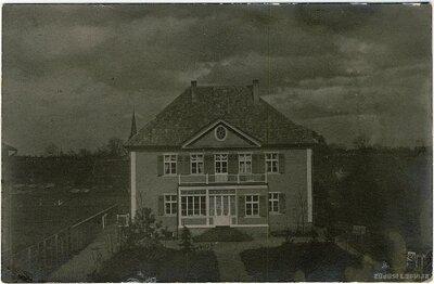 Jelgava. Skolotāju dzīvojamā māja Skolas ielā