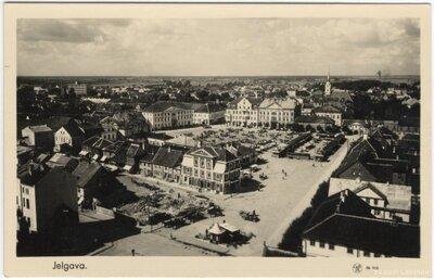 Jelgava. Tirgus laukums