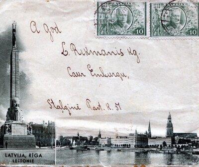 Aploksne ar Rīgas skatiem
