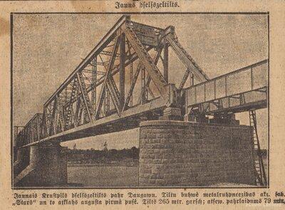 Krustpils. Zeļķu tilts