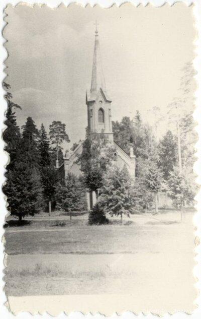 Ogre. Ogres evaņģēliski luteriskā baznīca
