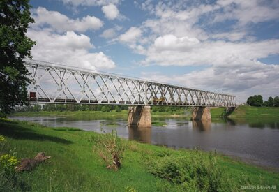 Dzelzsceļa tilts pār Daugavu Daugavpilī