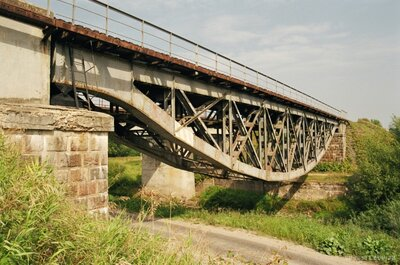 Dzelzsceļa tilts pār Rēzeknes upi Rēzeknē