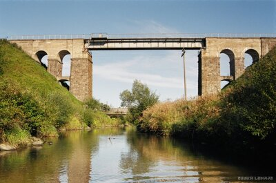 Dzelzsceļa tilts pār Raunas upi