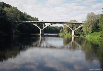 Tilts pār Gauju Siguldā
