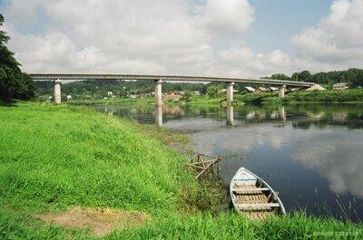 Tilts pār Daugavu Krāslavā