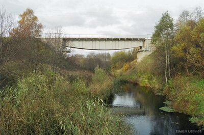 Dzelzceļa tilts pār Vēršādu