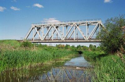 Dzelzceļa tilts pār Tērveti