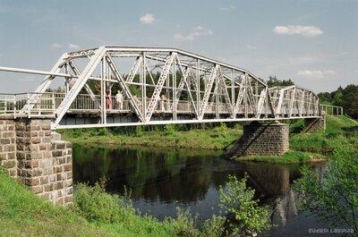Gājēju tilts pār Gauju Valmierā