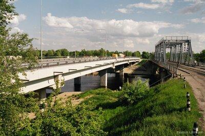 Tilts pār Buļļupi Rīgā