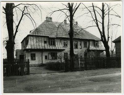 Rīga. Mežaparks. Arhitekta B. Bīlenšteina nams