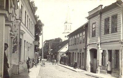 Kuldīgaas Vēsturiskais centrs. Baznīcas iela