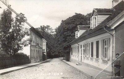 Kuldīgas vēsturiskais centrs. Kalna iela
