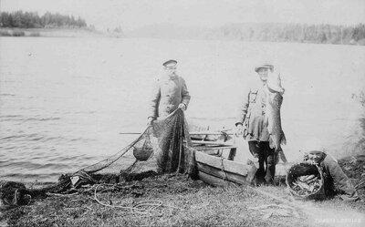 Raipaļa ezera zvejnieki