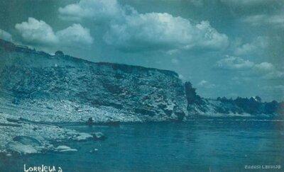 Lorelejas, Nāru klints. Daugava pie Pļaviņām