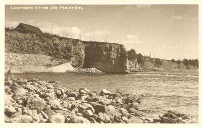 Lorelejas klints pie Pļaviņām