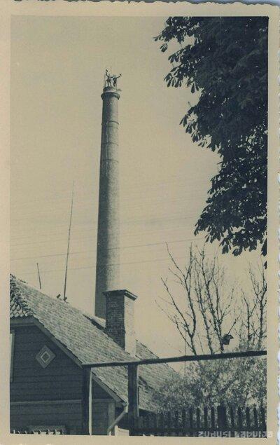 Cēsu elektrostacijas skurstenis