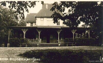 Bauskas pils dārza paviljons
