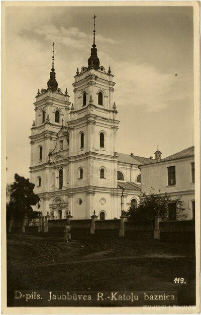 Daugavpils. Vissvētākās Jaunavas Marijas Bezvainīgās Ieņemšanas Romas katoļu baznīca