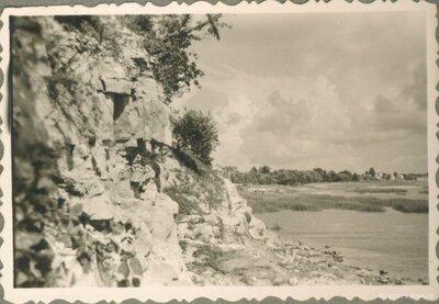 Daugavas krasts. Pļaviņas
