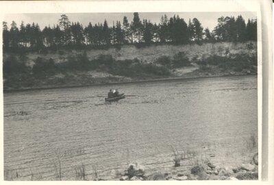 Daugavas krasts. Bebruleja